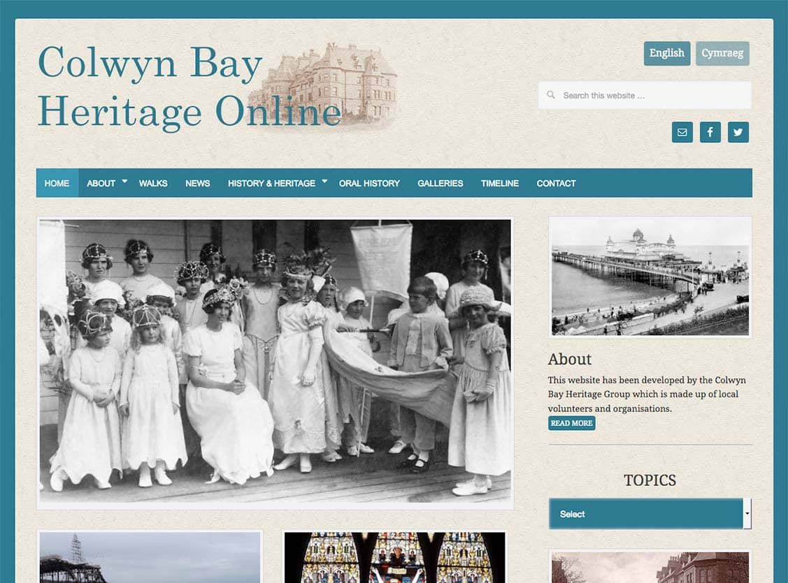 colwyn bay heritage group