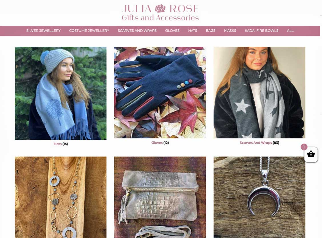 julia rose gifts and accessories